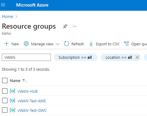 Microsoft Azure Resource Groups