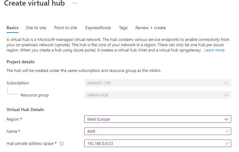 Site 2 Site VPN scale units
