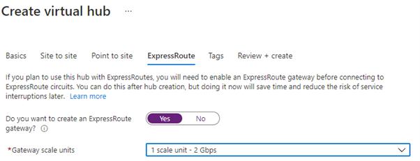 Add ExpressRoute Gateways