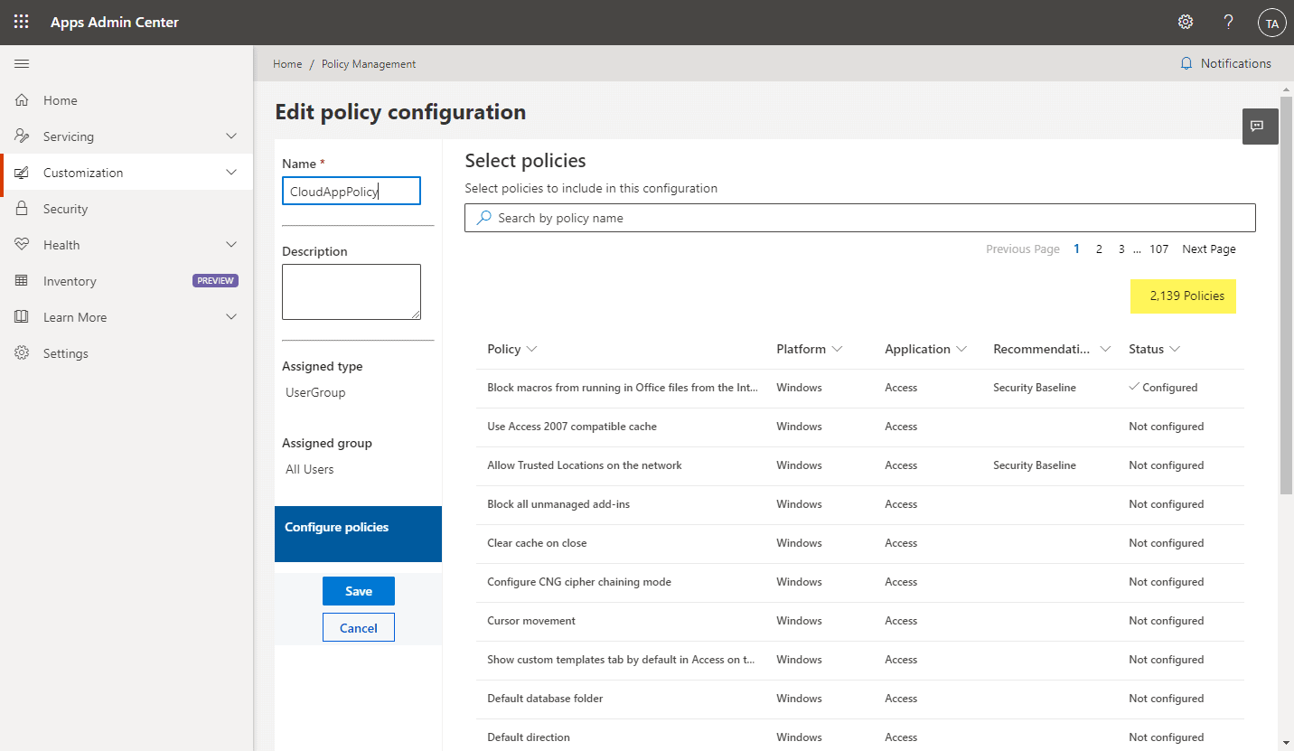 Microsoft-Office-Cloud-Policy-Service