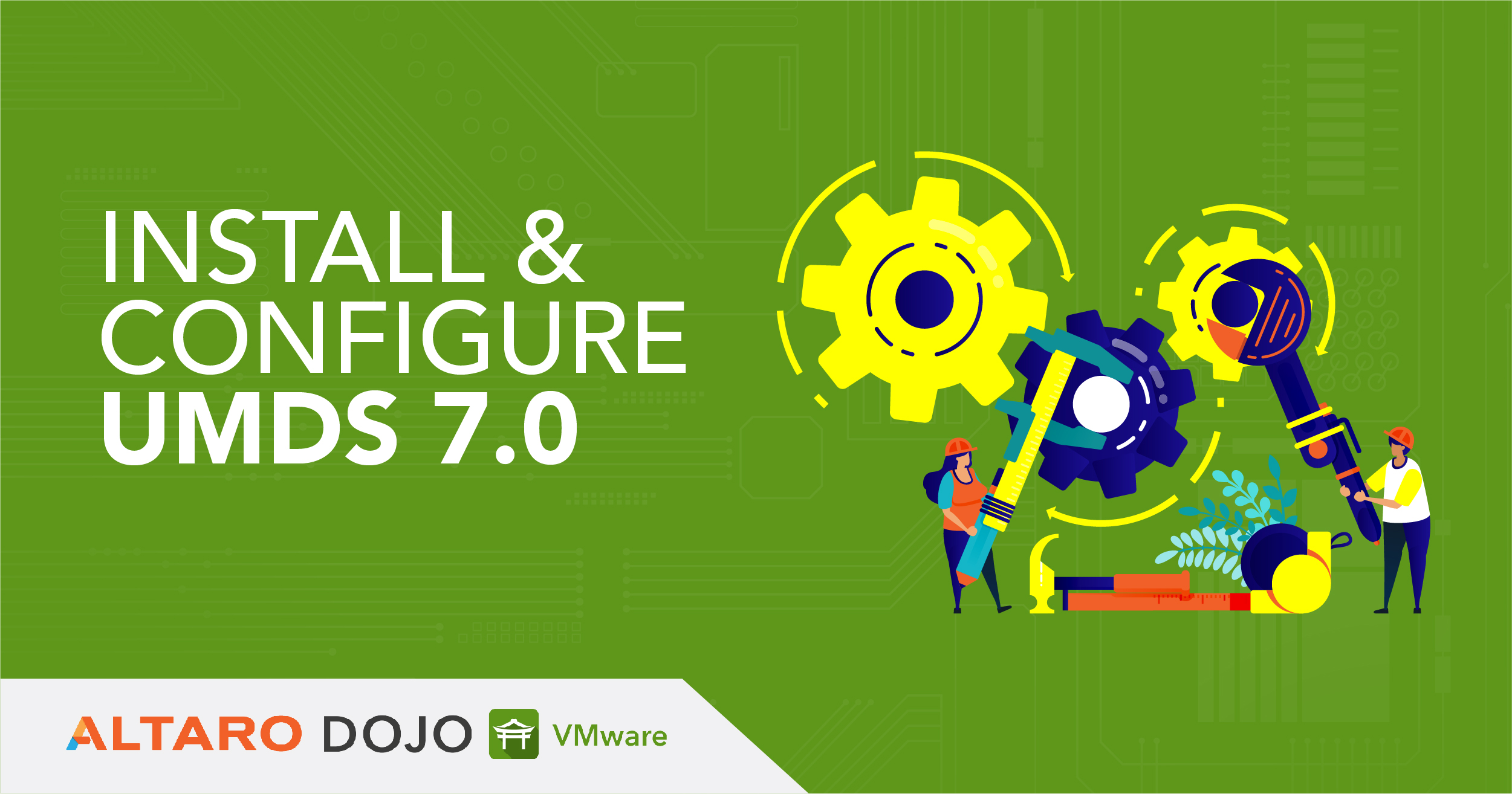 How to install and configure Update Manager Download Service (UMDS) 7.0
