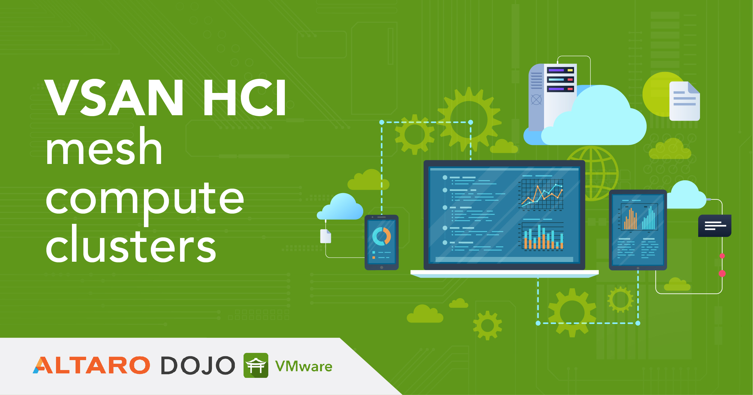 What is VSAN HCI mesh compute cluster in vSphere 7 Update 2?