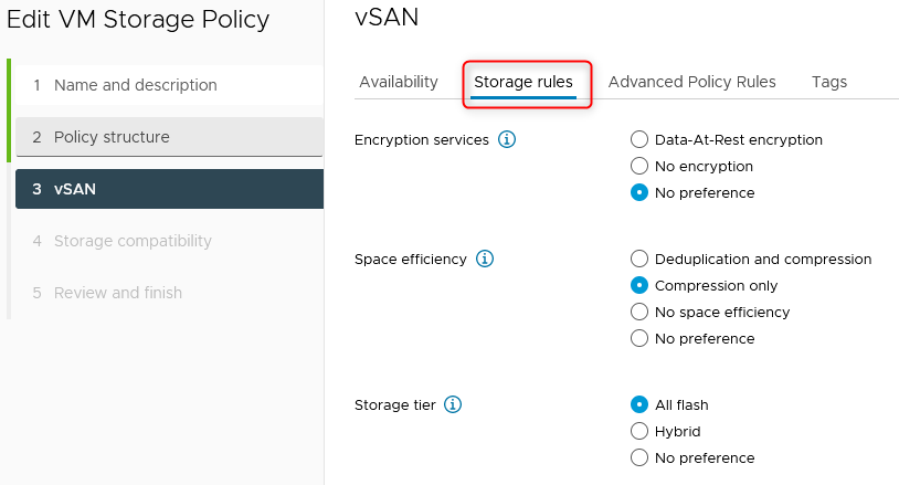 Storage rules extend datastore compatibility checks to storage services