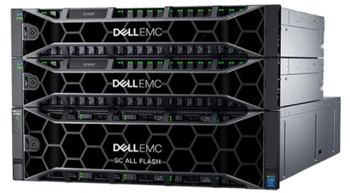 Dell all-flash SAN commonly used for VDI storage backends